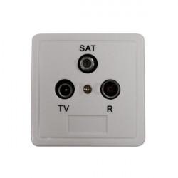 שקע טלוויזיה, רדיו ולווין...