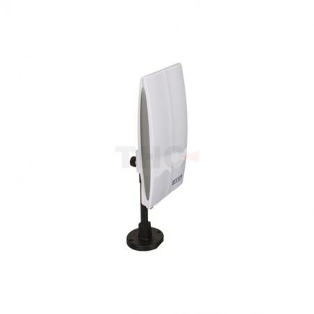כבל קואקס (RG6) לבן לטלוויזיה לווין ורדיו